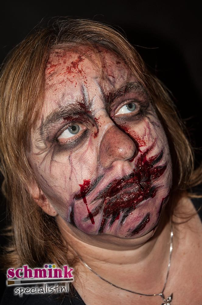 Halloween Zombie Schmink.Fotoalbum Cursus Zombie Makeup