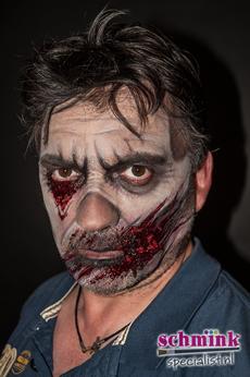 Fotoalbum - Cursus Zombie makeup-908