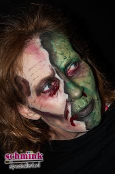Fotoalbum - Cursus Zombie makeup-912