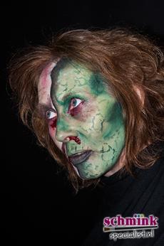 Fotoalbum - Cursus Zombie makeup-913
