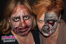Fotoalbum - Cursus Zombie makeup-919