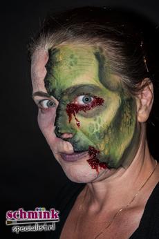 Fotoalbum - Cursus Zombie makeup-920