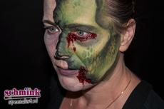 Fotoalbum - Cursus Zombie makeup-922