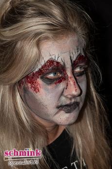 Fotoalbum - Cursus Zombie makeup-923