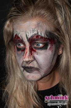 Fotoalbum - Cursus Zombie makeup-924