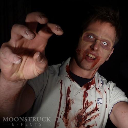 Zombie Wenkbrauwen Prosthetics-3